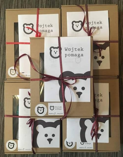 Zapakowane Wojtki gotowe do drogi! / Wojteks packed and ready to go!