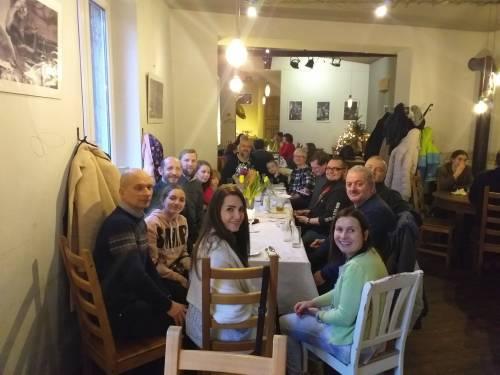 19.01.2020 Różaniec z Mirną Kbbeh - spotkanie rodzinne po modlitwie/ Rosary with Mirna Kbbeh - we are like one big family