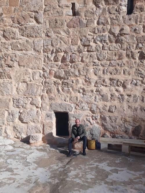 Wejście do klasztoru / The entrance