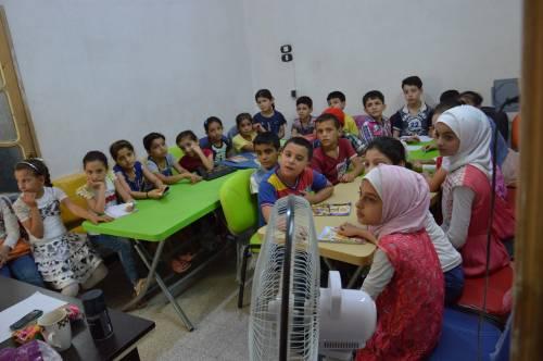 Około 500 dzieci uczy się w N&F / Ca. 500 kids gets education in N&F