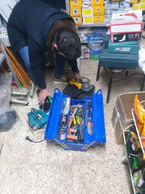 Pomogliśmy więc kupić narzędzia! / So we helped to buy tools