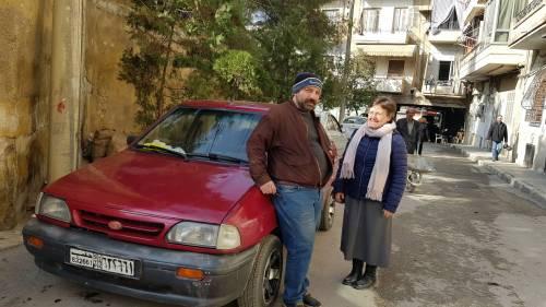 Innym projektem było opłacenie taksówkarza / Another project was to pay the taxi driver