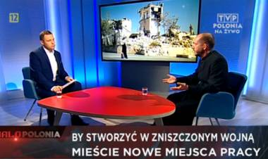 """O projekcie """"Daj pracę!"""" w TVP Polonia"""