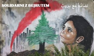 Solidarni z Bejrutem