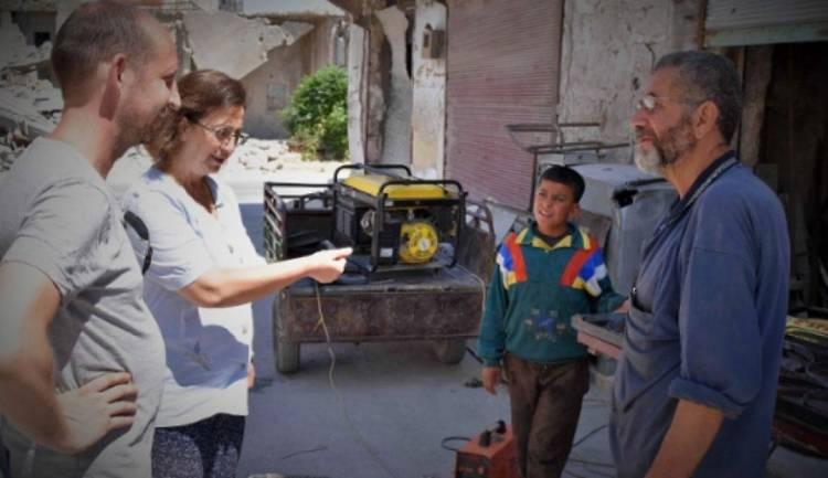 Aleppo wraca do życia