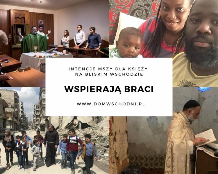 Intencje mszy świętej dla braci w potrzebie