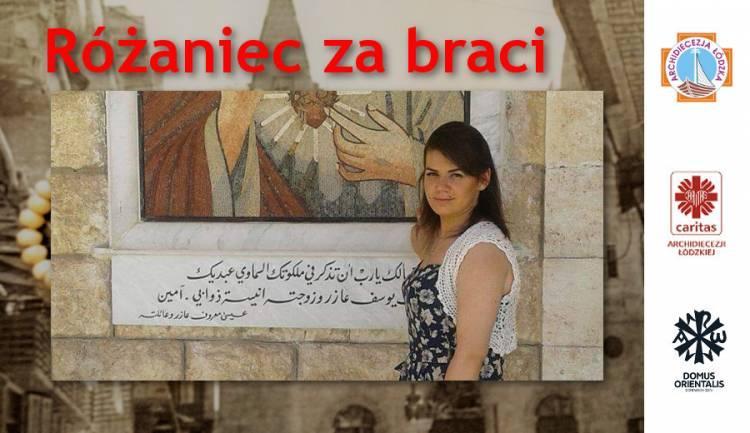 Różaniec za braci w lipcu: list i rozważania Smaher z Damaszku