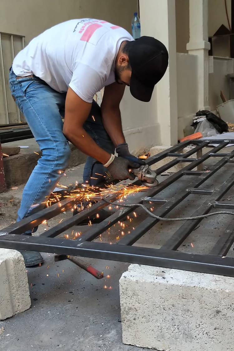 Podsumowanie działań związanych z remontami zniszczonych mieszkań w Bejrucie - listopad 2020