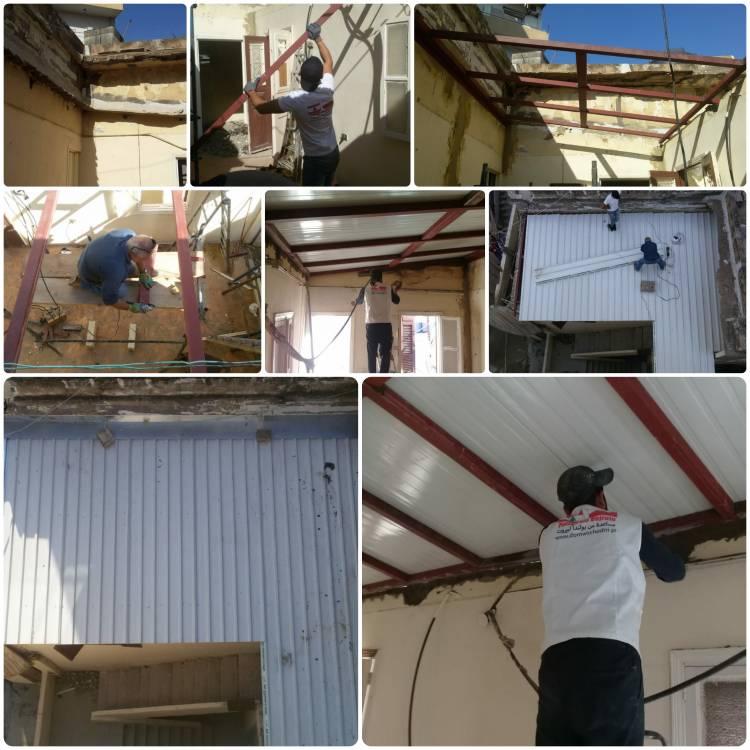 """Podsumowanie grudniowych prac remontowych i projektu """"Daj Pracę!"""" w Bejrucie"""